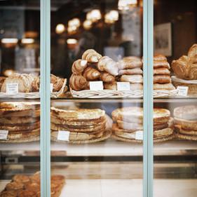 Vitrine d'une boulangerie