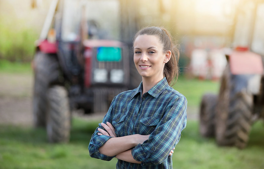 Young Female Farmer