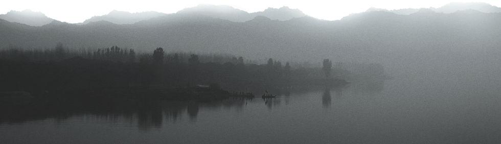Paesaggio nebbioso