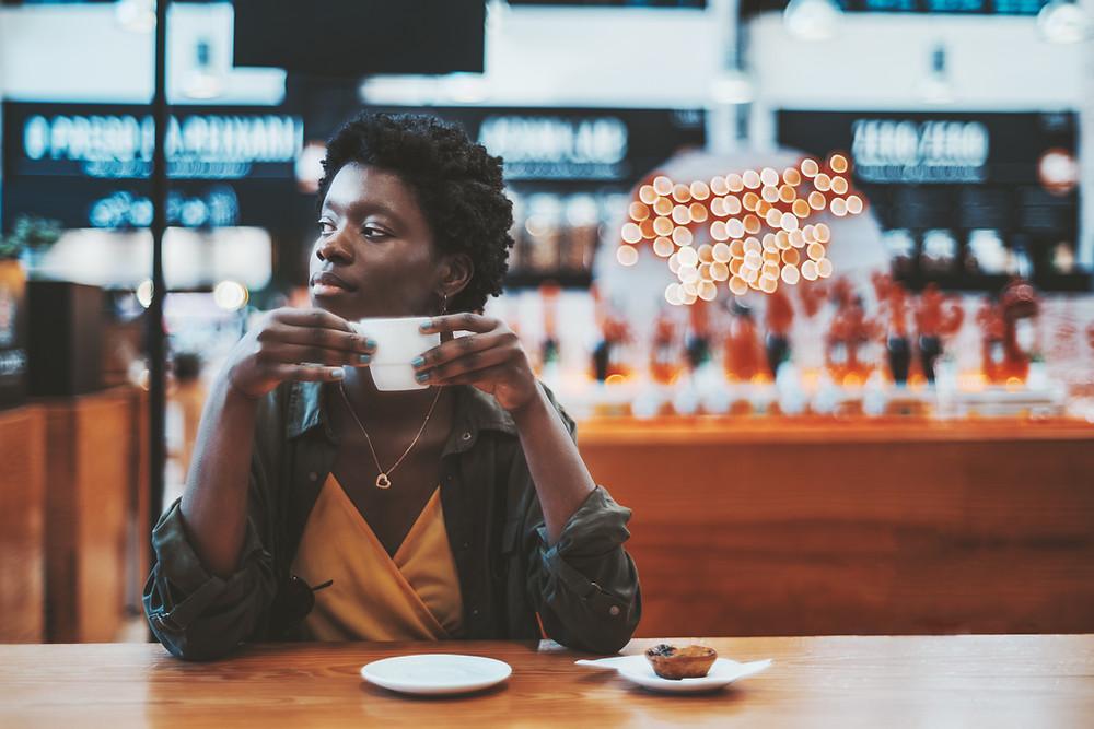 Negative side effects of caffeine from tea