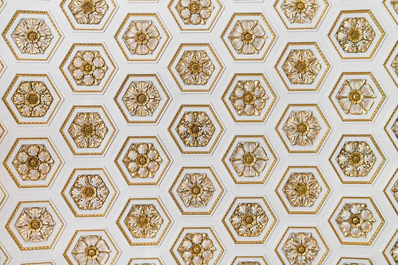 Gold Ornament Pattern