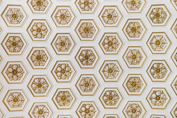 ゴールド飾りパターン