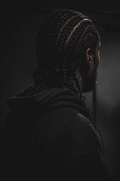 Man with Braids