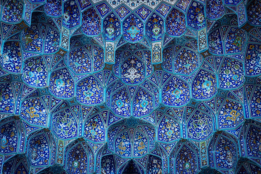 Blue Mosaic Building