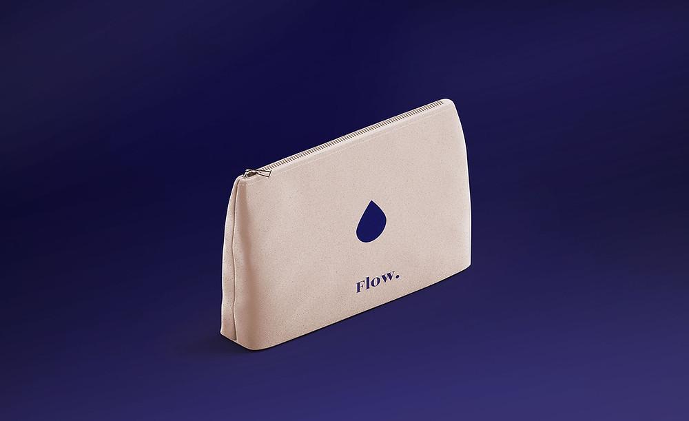 Wet Period bag for reusable sanitary towel