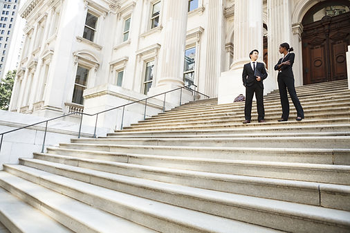 Courthouse Steps