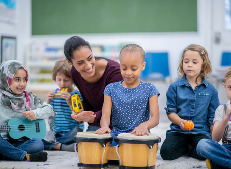 How Music Therapy Makes Learning Fun For Children