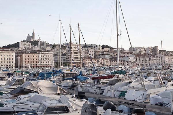 Hafen in Marseille