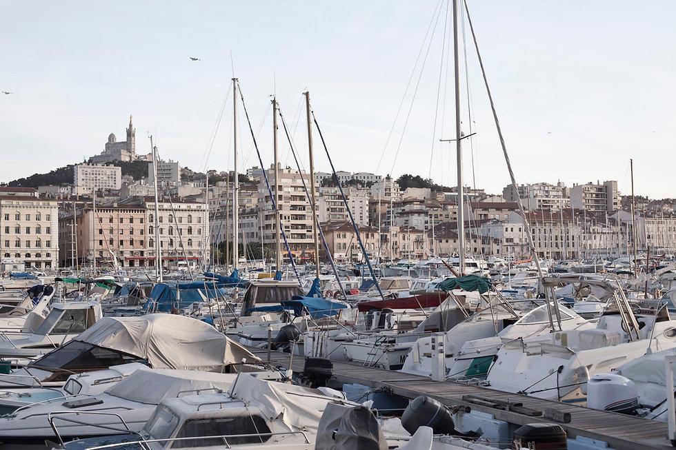 Hamn i Marseilles