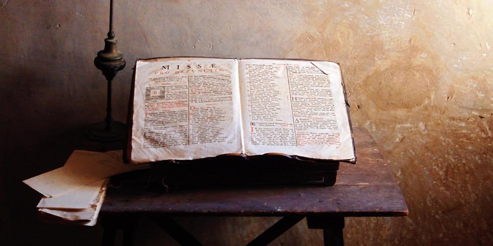 Bibelklubben – online varje onsdag 20:15
