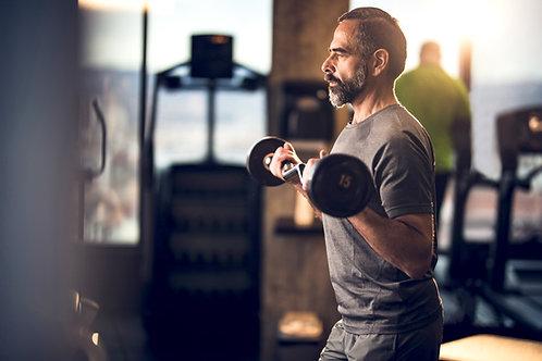 Basic Strength Program (4 weeks, Gym Machines)