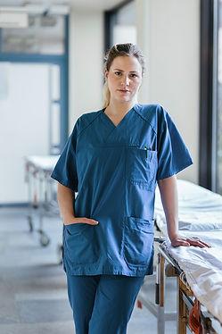 Doctor en uniforme
