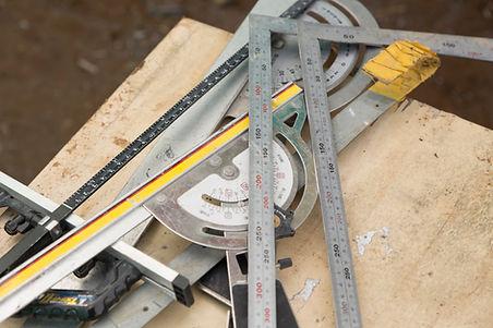 住宅 工事現場 イメージ 様々な工具 大工道具