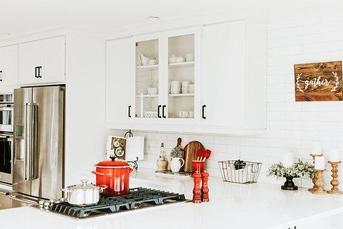 Kitchen Counter Décor