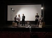 Acteurs en répétition