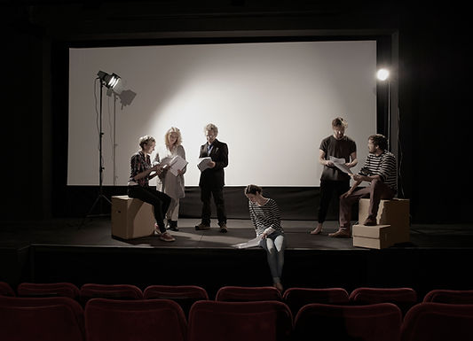 """Junior Drama: """"The Exploration of Scene Work, Part 1"""