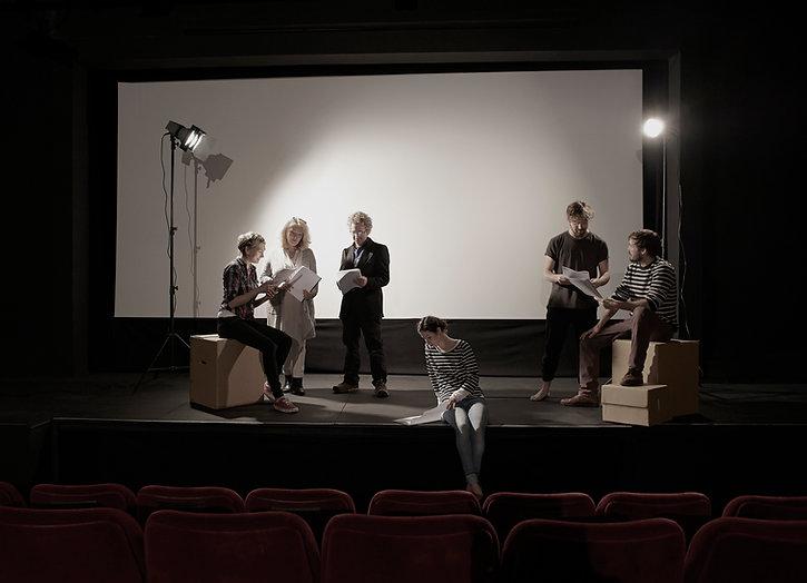 Актеры репетируют
