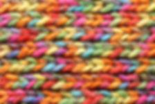 Estampado de punto de colores