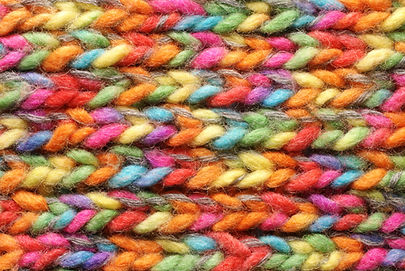 Colorful Knitted Print