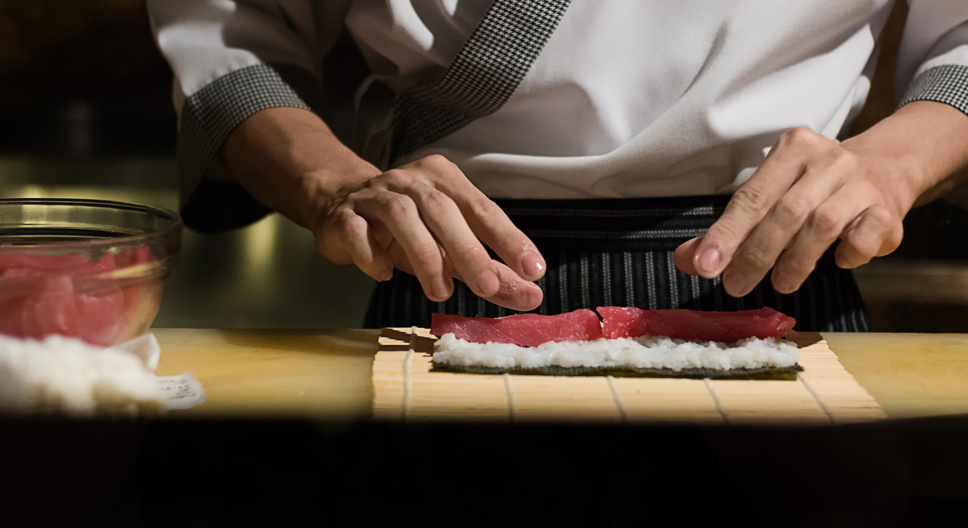 Sushi Making Banner