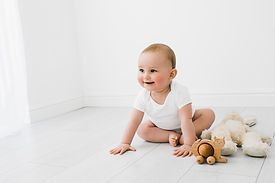 Baby with Toys
