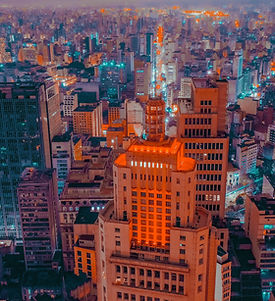 Cidade agitada