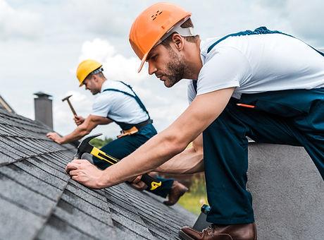 Dach reparieren