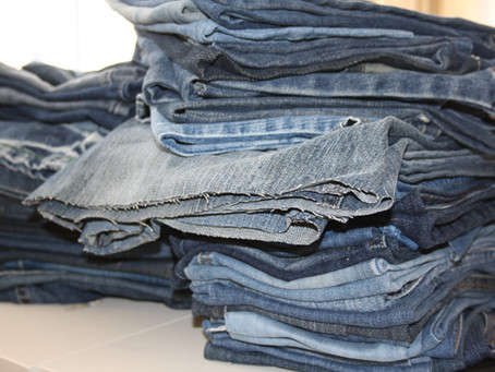 Denim Company Relieved to Find Use for Old Box of Relaxed Fit Wide Leg Jeans in Basement