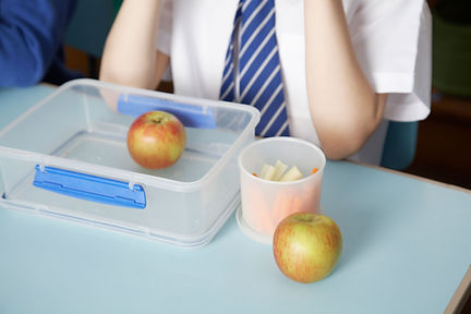 Apple in Lunchbox