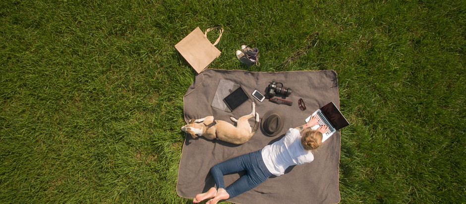 Getting Outside in Your Working Day