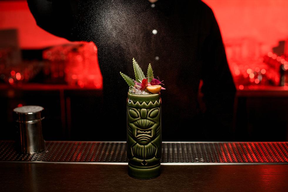 Tiki Drink Prep