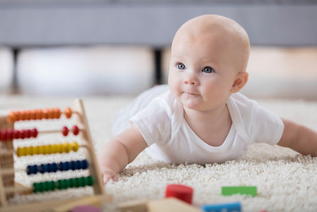 התפתחות מוטורית בחצי שנת החיים הראשונה