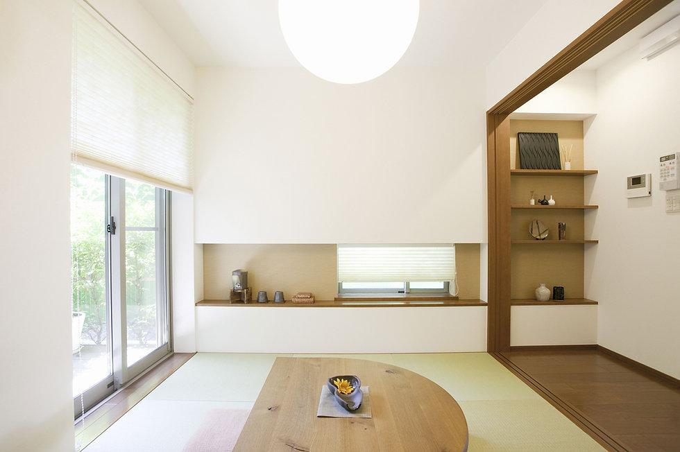 Raum mit natürlichem Licht