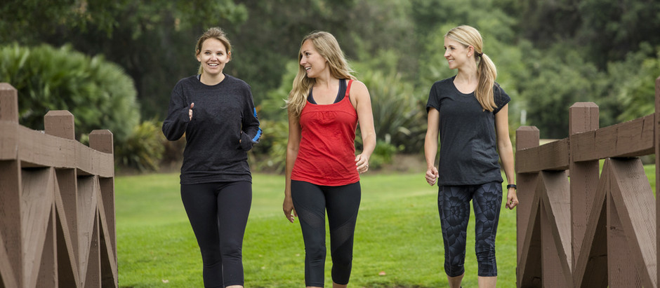A Beginner's Walking Plan - The Warm-Up Phase
