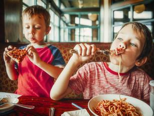 Kids Eating Healthy