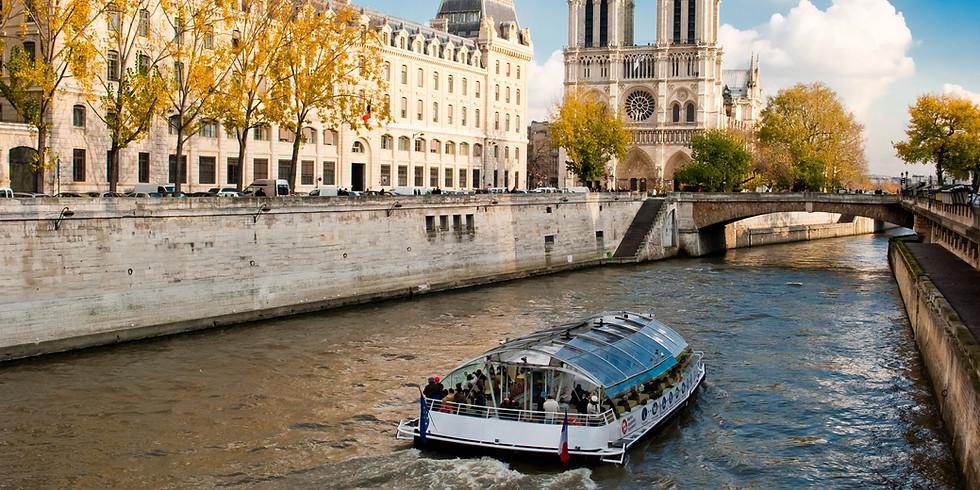 5 juillet : Promenade en bateaux –mouches sur la Seine