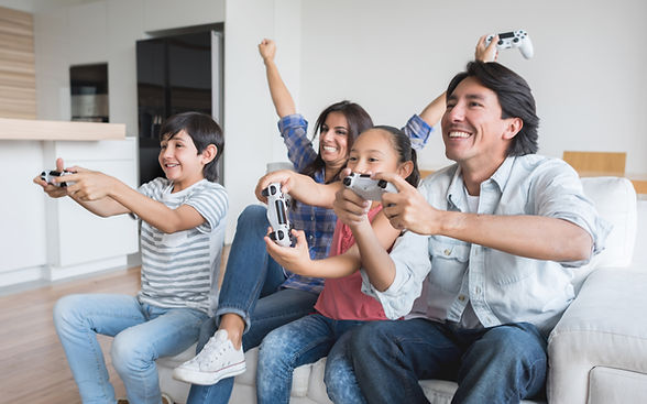 Family Playing Games