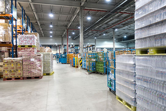 Wholesale Market Aisle