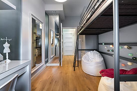 二段ベッド付きルーム