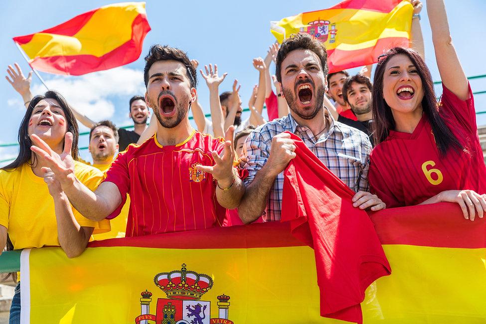 Fãs espanhóis