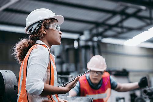 Female Industrial Engineer
