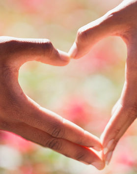 Love-heart- hands making heart shape