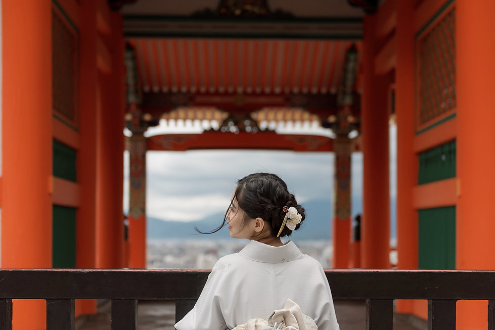 Girl with Kimono