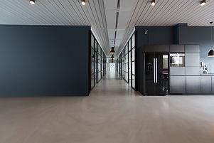 moderne Arbeitsbereich Fugenlose Boden für Gewerbe