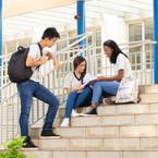 Alumnos participando en escuela privada de coyoacán