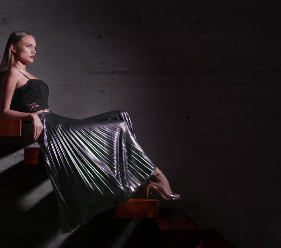 Cinemagraph jupe modele