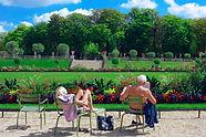 夏のリュクサンブール公園