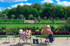 Jardin du Luxembourg en été