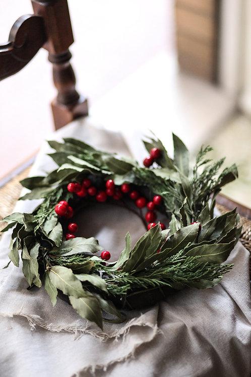 MAKE A CHRISTMAS WREATH  -Nov. 9