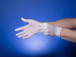 感染対策ゴム手袋